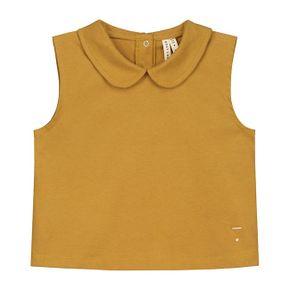 Gray Label SS18 Collar Tank Top Mustard