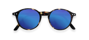 Izipizi Adults #D Blue Tortoise Blue Mirror Lenses