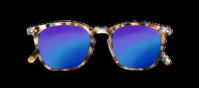 Izipizi Adults #E Sun Blue Tortoise Blue Mirror Lenses