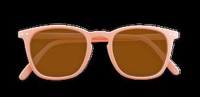 Izipizi Adults #E Sun Rose Granit with Soft Brown Lenses