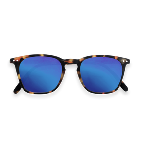 Izipizi Adults #E Sun Tortoise Blue Mirror Lenses