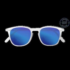 Izipizi Adults #E Sun White Crystal Blue Mirror Lenses