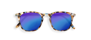 Izipizi #E Junior Sun Blue Tortoise Mirror Lenses