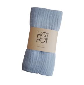 KaiKai SS18 Airy Blue Bamboo Muslin Scarf