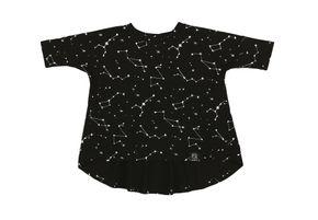 Kukukid AW17 Tunic Black Constellation
