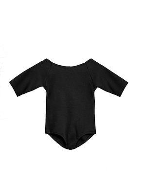 Little Creative Factory Dancers Soft Long Sleeved Leotard Black