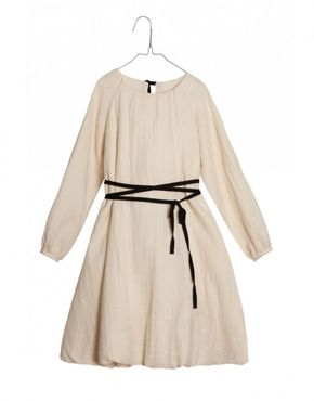 Adult Little Creative Factory  Sack Dress Cream