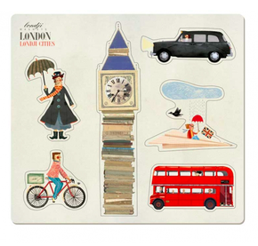 Londji London Magnets