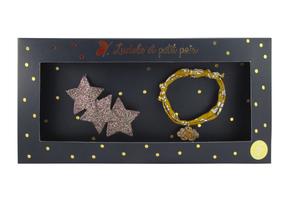 Luciole et Petit Pois Three Star Hair Clip Gift Box Set