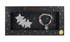 Luciole et Petit Pois Three Star Hair Clip Gift Box Set