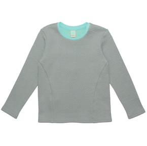 Macarons Jumper Pitt Grey/Mint