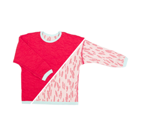 Macarons Pullover Crash Strawberry Coral