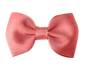 MIlledeux Small Alligator Clip Bow Dusty Rose