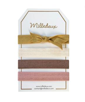 Milledeux Set of Hairties - Color Combi 12