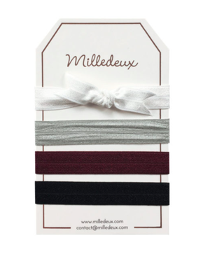Milledeux Set of Hairties - Color Combi 15