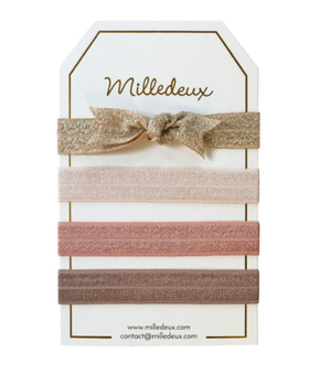 Milledeux Set of Hairties - Color Combi 4
