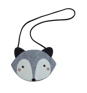 Mini Dressing Racoon Grey Bag