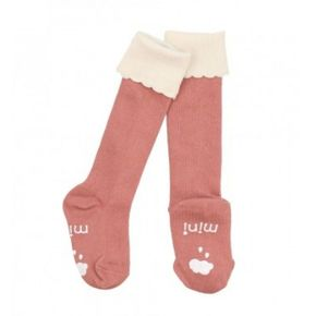 Mini Dressing Knee Socks Cupcake Pink