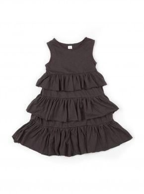 Mini Dressing Bohemian Piece Dress Charcoal