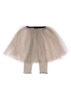 Mini Dressing Two-Tone Tutu Set Up Khaki
