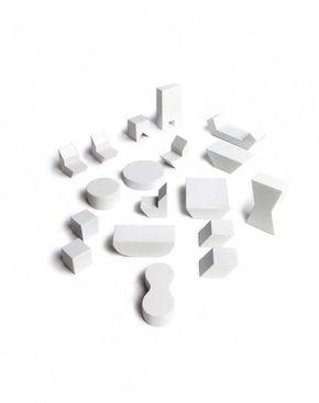 Rock & Pebbles Mini Furniture for Pebbles White