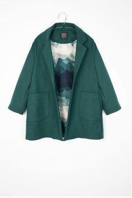 Motoreta AW17 Tess Coat Bottle Green