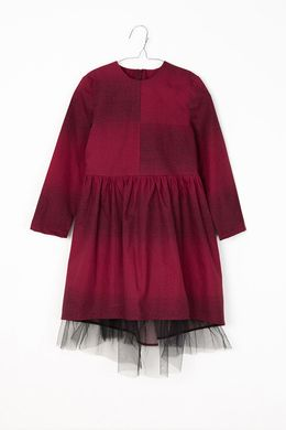 Motoreta AW17 Thea Dress Burgundy