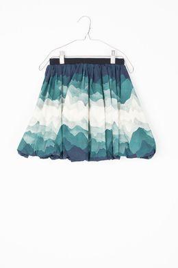 Motoreta AW Collette Skirt Landscape Print