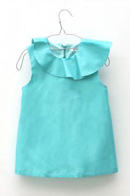 Motoreta Cadiz Blouse Turquoise