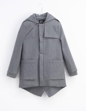Motoreta Kazumi Coat Grey Denim