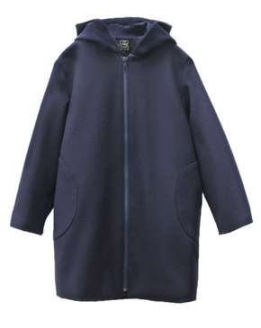 Motoreta Mika Coat Blue
