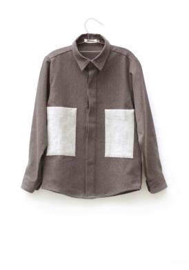 Motoreta Shirt Hans Dark Grey