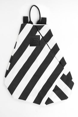 Motoreta Beach Bag Black-White