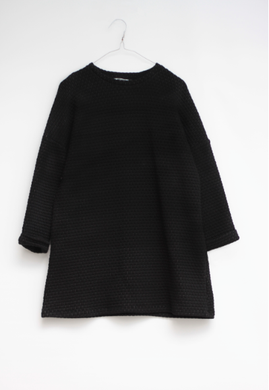 Motoreta Dress Telma Textured Black