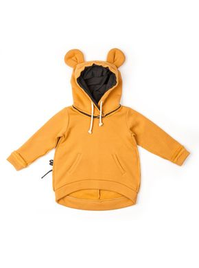 Mouse in a House AW17 Mouse Hoodie Mustard