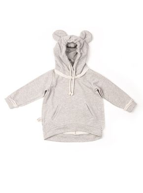Mouse in a House AW17 Mouse Hoodie Grey