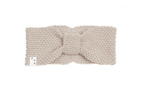 Oolet Linen knitted headband - grey