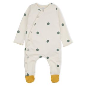 Organic Zoo AW17 Dots Suit with Contrast Feet