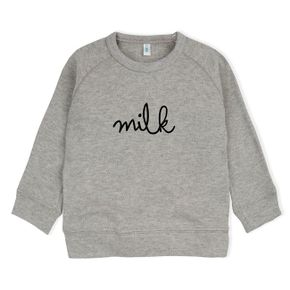 Organic Zoo AW17 Grey Sweatshirt Milk