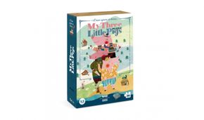 Londji My 3 little pigs puzzle