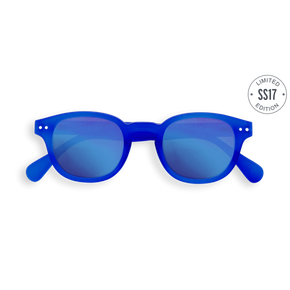 Izipizi #C Junior Sun King Blue Crystal Blue Mirror Lenses
