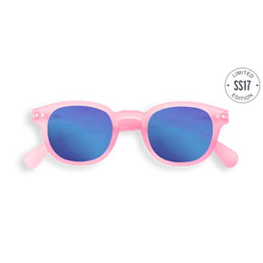 Izipizi #C Junior Sun Jelly Pink Blue Mirror Lenses