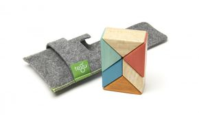 TEGU Prism Pocket Pouch 6 blocks Sunset
