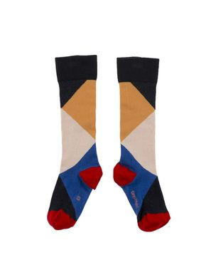 TinyCottons Altiplano Geometric High Socks Multicolor