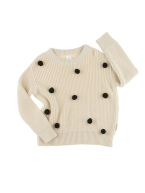Tiny Cottons Altiplano Pom Pom Sweater