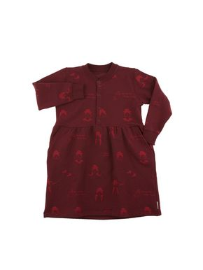 Tiny Cottons Altiplano No-Worry Dolls Fleece Dress