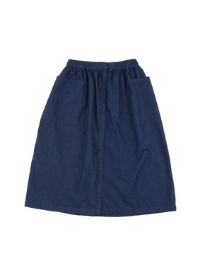 Tiny Cottons Altiplano Bottom Down Denim Skirt