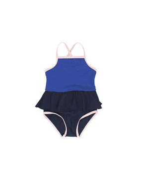 Tiny Cottons Frill Swimsuit Blue