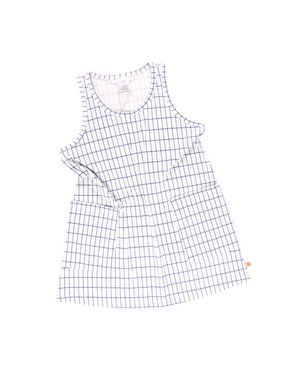 Tiny Cottons Grid Tank Dress