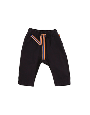 Tiny Cottons Solid Pants Dark Navy